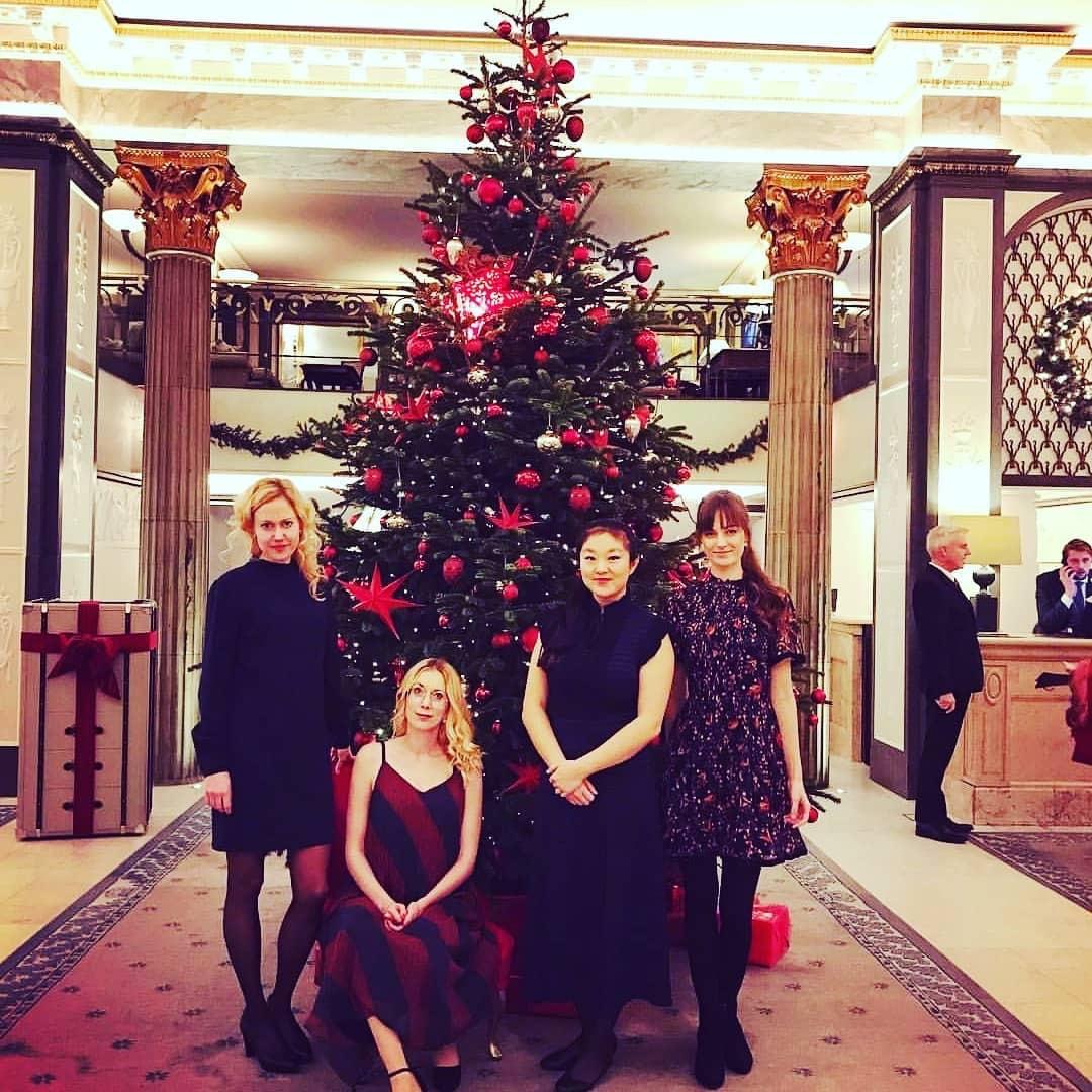 Julbord och stråkkvartett på Grand Hotel