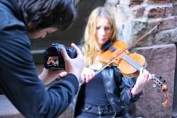 Musikvideoinspelning Nit project